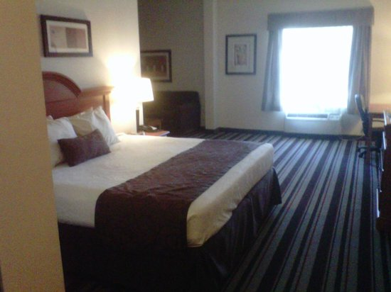Best Western Windsor Inn & Suites: King Over-sized Suite (2 televisions)