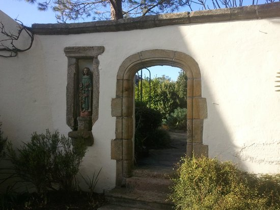Domaine de Rochevilaine : Une partie des jardins...