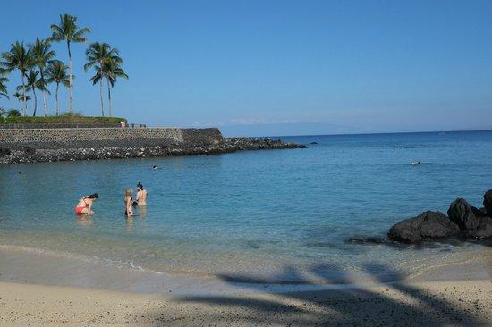 Mauna Lani Bay Hotel & Bungalows : Beach