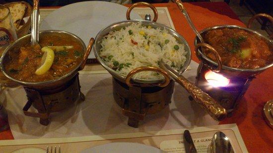 Taj Indian : Main course