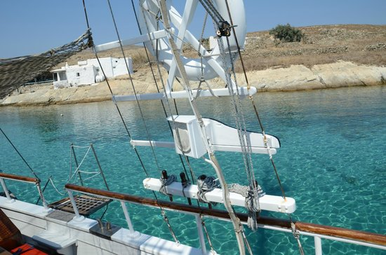 Aegean Ventures : Mykonos day cruise