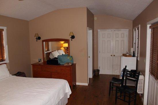 Dahlonega Spa Resort: View of room