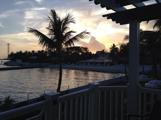 Southernmost Beach Resort : Sunset from the ocean view balcony