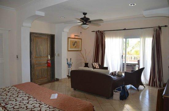 Paradisus Varadero Resort & Spa: La partie salon de la chambre