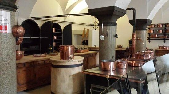Neuschwanstein Castle: cucina del castello..