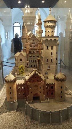 Neuschwanstein Castle: plastico