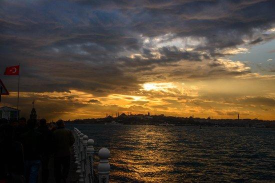 Bosphorus Strait : From the pier