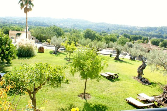 Hotel Rural & Spa Monnaber Nou: Vistas desde la terraza