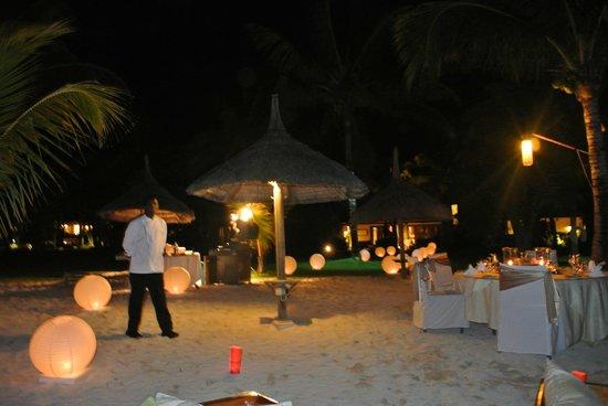 LUX* Le Morne: les diners sur la plage façon Nadine