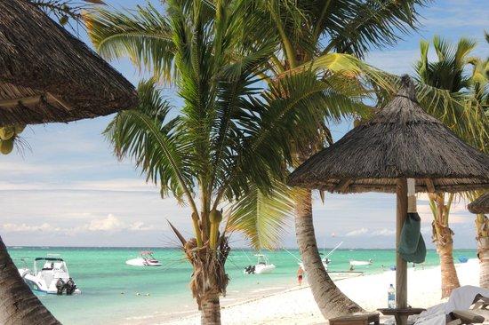 LUX Le Morne : playa