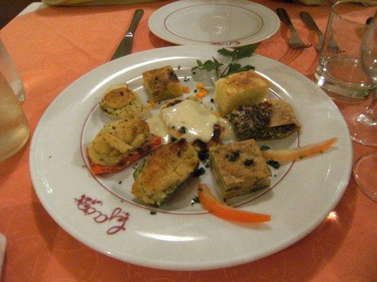 Da Gaia : antipasto di torte salate