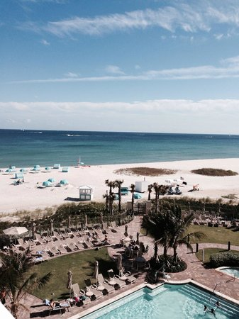 Fort Lauderdale Marriott Pompano Beach Resort & Spa : Our view