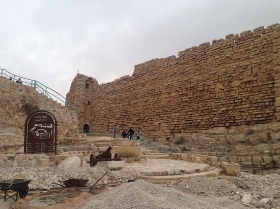 Kerak Castle: outside view