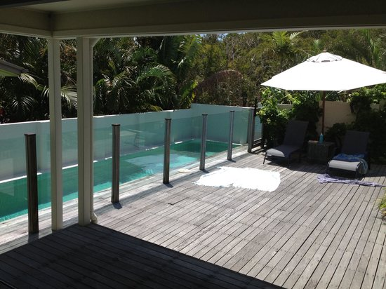 The Cape Beach House: Best lap pool ever, best colour so warm so luxurious, best place to float after a surf or ride i