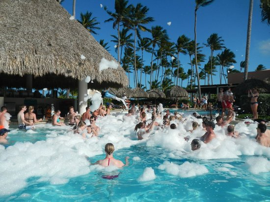 Foam Party Picture Of Secrets Royal Beach Punta Cana