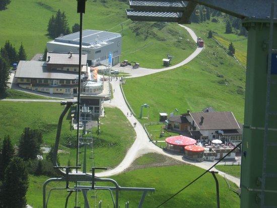 Alpendomizil Neuhaus: funivia