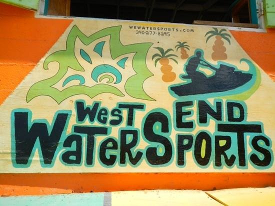 see the sea with West End Water Sports