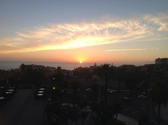 "GF Gran Costa Adeje: Sunset from the roof of The Costa Adeje Gran ""moan""about this!"