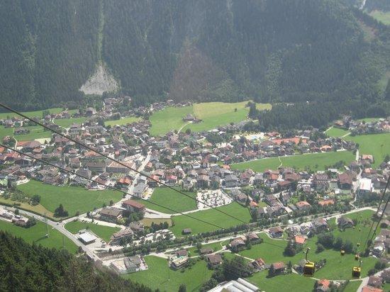 Alpendomizil Neuhaus: mayrhofen dalla funivia