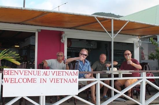 Restaurant Cam Ranh Bay - Viet Thai: Perfect place for a sundowner