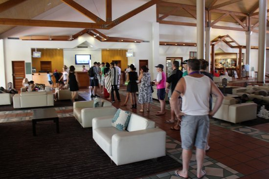 Novotel Twin Waters Resort: Queue for checkout (like this most days)