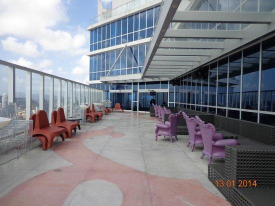 Hard Rock Hotel Panama Megapolis: Piso 62, por la noche discoteca.