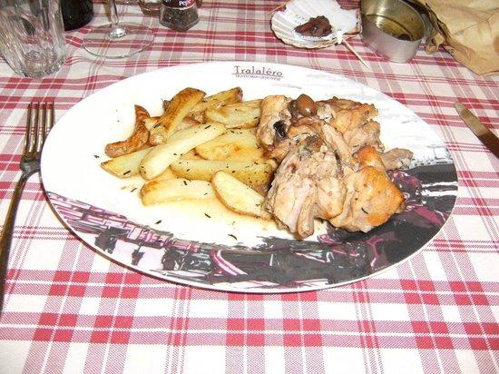 Tralalero: coniglio alla ligure con patate