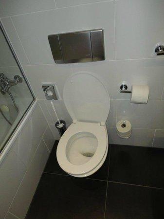 Wyndham Stuttgart Airport Messe: Askew toilet seat