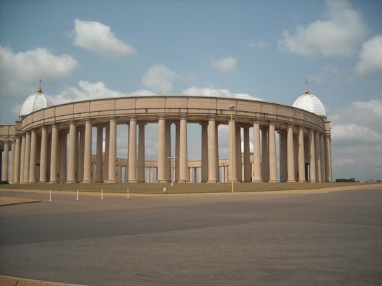 Basilica of Our Lady of Peace : column