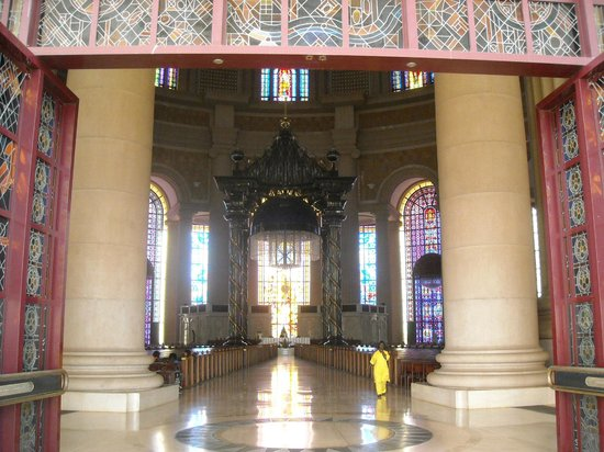 Basilica of Our Lady of Peace : entrance