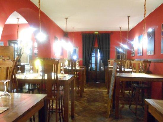 Les 3 Metis Antananarivo : La salle de restaurant