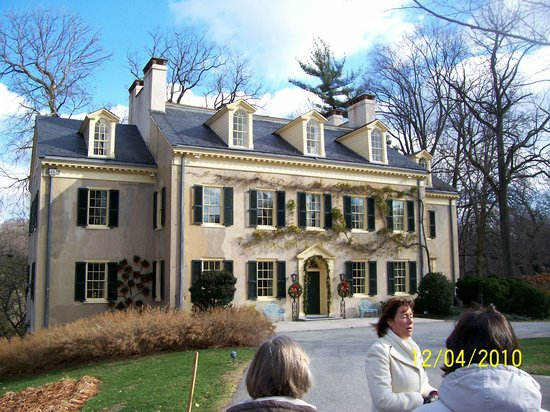 Hagley Museum and Library: duPont's first mansion at Hagley 1802