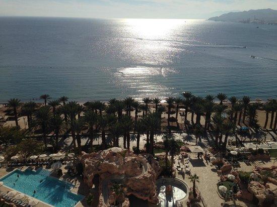 Dan Eilat: Utsikt över Aqababukten