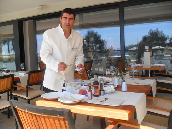 Hotel Laguna Parentium: Unser Lieblings Kellner