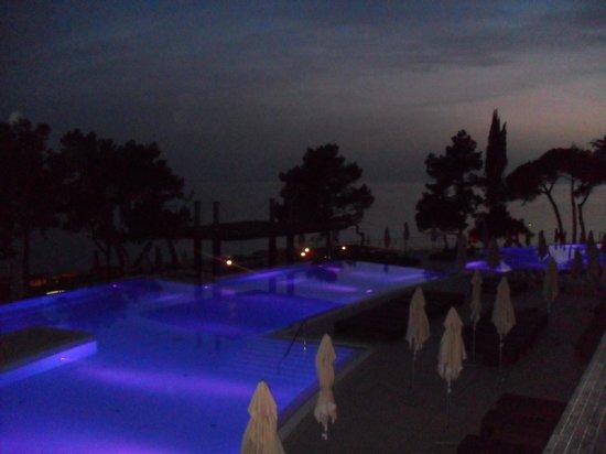 Hotel Laguna Parentium: Selbst bei Nacht wunderschön