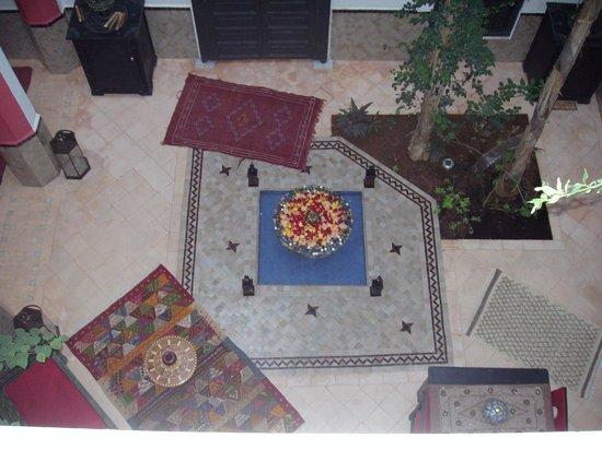 Riad Swaka : Innenhof