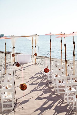 La Concha Beach Resort: Ceremonia civil en playa