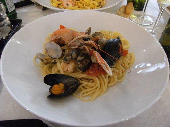 SOHO : spaghetti ai frutti di mare