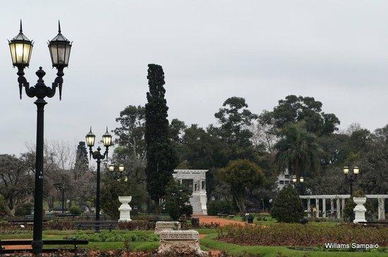 Parque 3 de Febrero: Rosedal - BsAs