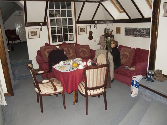 The Brufords Bed and Breakfast : comfortable to spend time in