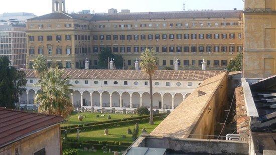 Hotel Diocleziano : Vista do quarto