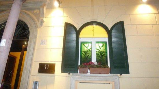 Hotel Diocleziano : Fachada