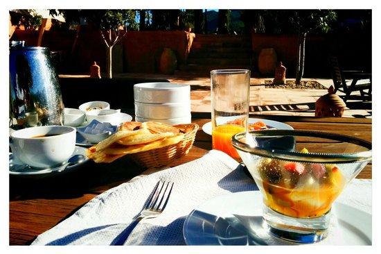 Kasbah Bab Ourika : breakfast