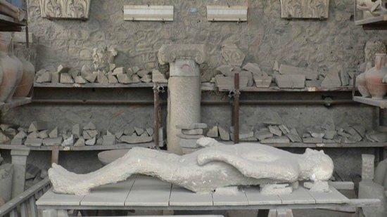 Pompeji: Markthalle im Forum 2