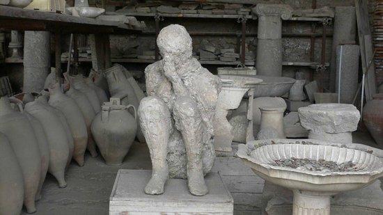 Pompeji: Markthalle im Forum 3