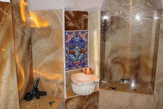 Gamirasu Cave Hotel: The amazing bathroom