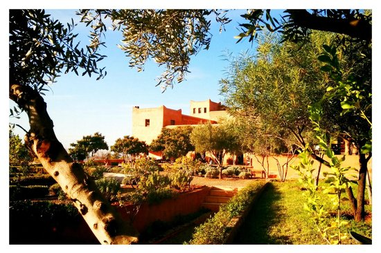 Kasbah Bab Ourika: the main building