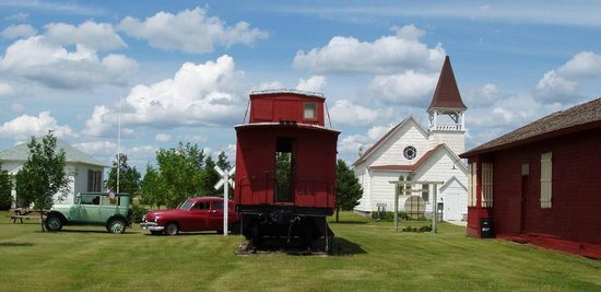 North Dakota: Dickey County Historical Park in Oakes, ND