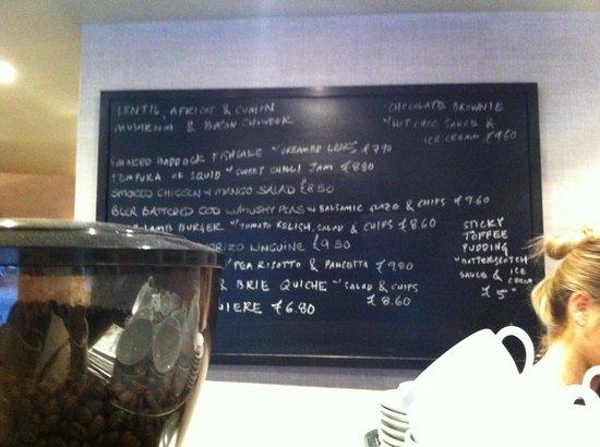 Luigi's Restaurant: The tasty menu of tempting things...