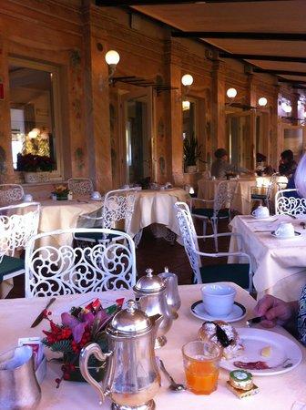 Rooftop Garden Restaurant Picture Of La Terrazza Dei Papi